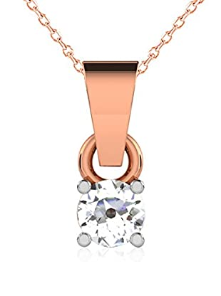 Friendly Diamonds Conjunto de cadena y colgante FDP6254R Oro Rosa