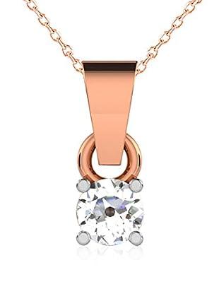 Friendly Diamonds Conjunto de cadena y colgante FDP6254R Oro Rosa