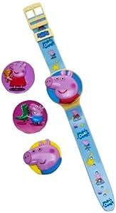 Peppa Pig Interchangeable Head Lcd Watch
