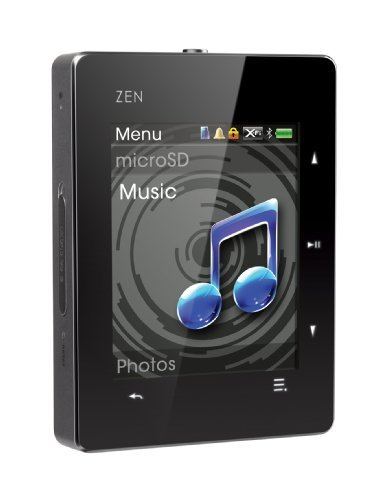 Creative ZEN X-Fi 3 8 GB MP3 and Video Player withTouchscreen, Bluetooth and FM Radio (Black)