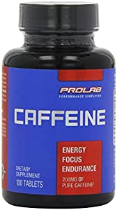 ProLab Caffeine Maximum Potency 200mg Tablets 200 - Count