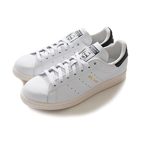 adidas originals アディダスオリジナルス STAN SMITH スタンスミス 白黒 正規取扱品 (26.5,White/Black(S75076))