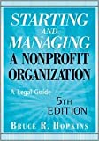 img - for Starting and Managing a Nonprofit Organization 5th (fifth) edition Text Only book / textbook / text book