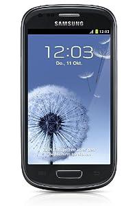 Samsung Galaxy S3 mini I8190 Smartphone (10,2 cm (4 Zoll) AMOLED Display, Dual-Core, 1GHz, 1GB RAM, 5 Megapixel Kamera, Android 4.1) onyx-black