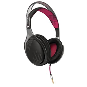 Philips O'Neill SHO9560/28 Over-Ear Headphones – Black Bordeaux