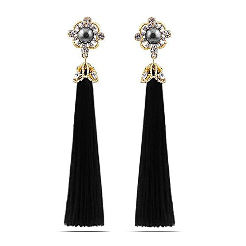 [Luck Wang Lady's Unique New Fashion Chinese Knot Handmade Wooden Bead Agate Tassel Long Section] (Starter Dance Costumes For Sale)