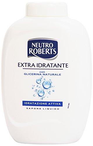 Neutro Roberts - Sapone liquido, extra idratante, con glicerina naturale, idratazione attiva -  300 ml