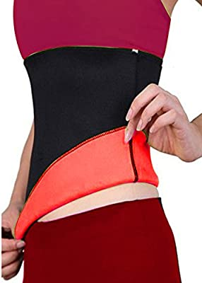 Junlan Sweat Premium Waist Hot Sauna Trimmer for Women Shaper Girdle Belt