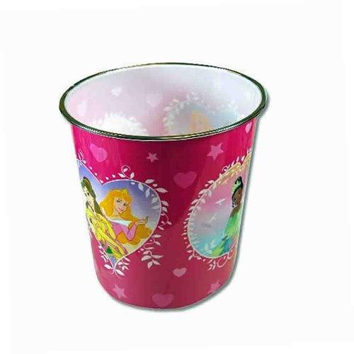 Disney Princess Plastic Trash Can - 1