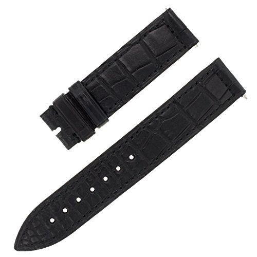 franck-muller-07j-16-16-mm-veritable-alligator-en-cuir-noir-bande-montre-pour-hommes