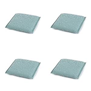 Gala Kitchen Scrubber Combo Set (Green) (Pack of 4)