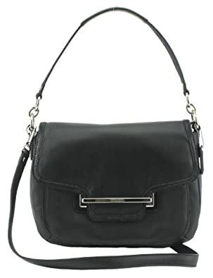 Coach Taylor Leather Flap Shoulder Bag 34