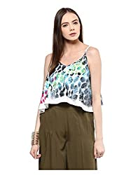 Yepme Women's Multi-Coloured Polyester Tops - YPWTOPS1381_XS