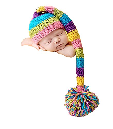 Photography Prop Baby Infant Costume Cute Flower Crochet Knitted Hat Cap