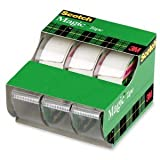 Scotch Magic Tape, 3/4 x 300 Inches, (3105)