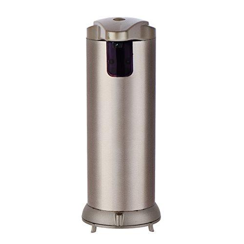 Automatic Soap Dispenser,Justmysport Kitchen Soap Dispenser Premium Electronic Touchless Sensor Soap Dispenser Fingerprint Resistant Brushed Stainless Steel Luxury Golden 280ml (Soap Dispenser Electronic compare prices)