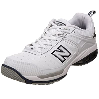 New Balance Men's MC804 Tennis Shoe,White,9 B