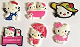 Hello Kitty mix B Shoe Charms Set of 6 - suitable for Crocs Jibbitz * 16 *