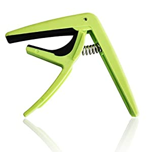 Funky Capos Guitar - Capos - The Capo With A Conscience - suitable for all 6 strings - acoustic guitar capo - electric guitar capo - loves guitar strings - capos - ultra lightweight - capos for acoustic guitar - fun, funky and easy to use - acoustic capo