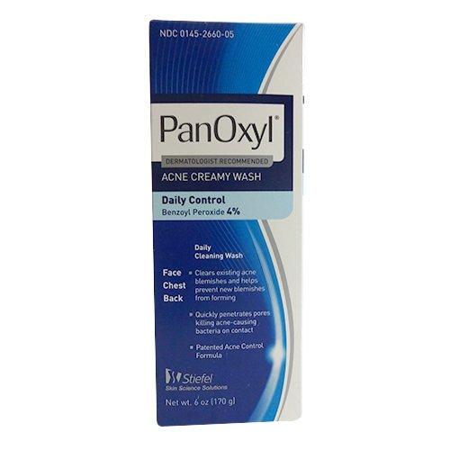 Galleon - Panoxyl 4% Benzoyl Peroxide Acne Creamy Wash 6 Oz