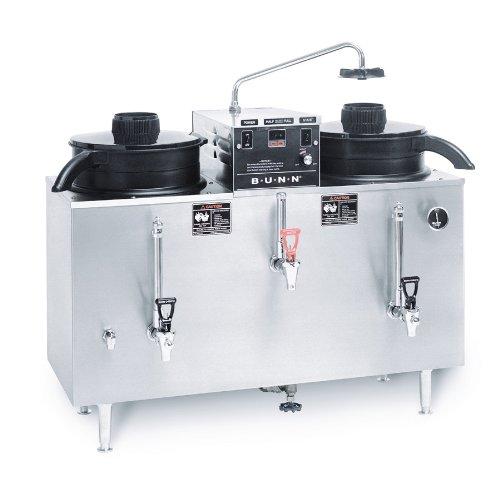 Bunn U3-0000 - 20500.0000 3 Gallon Twin Automatic Electric Coffee Urn - U3
