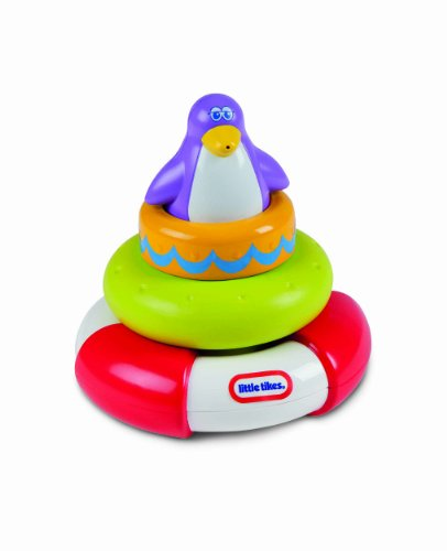 Little Tikes Squirt And Stack Play Penguine, Multi Color