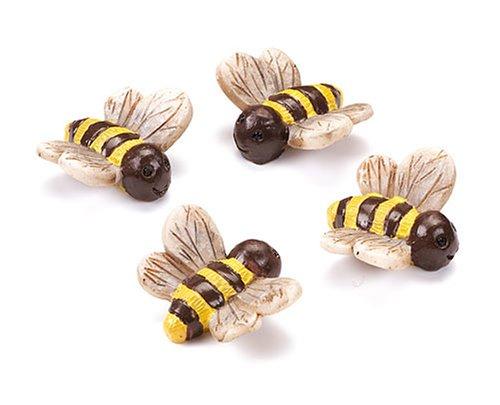 Imagen principal de Gütermann/KnorrPrandell 8043830 - Set de 4 abejas de 2 cm [Importado de Alemania]