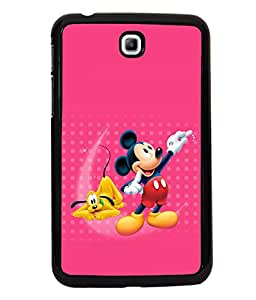 printtech Mickey Mouse Pluto Disney Back Case Cover for Samsung Galaxy Tab 3 7.0 :: Samsung Galaxy Tab 3 T211 P3200