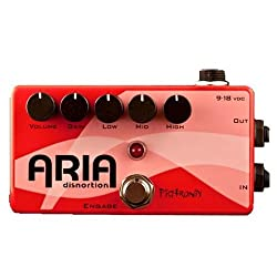 Pigtronix Aria Disnortion Distortion Guitar Effects Pedal from Pigtronix