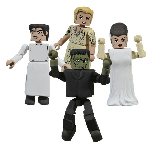 Diamond Select Toys Universal Monsters Minimates: Frankenstein Box Set - 1