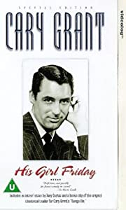 His Girl Friday [VHS] [1940]