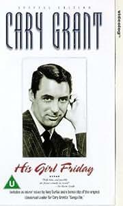 His Girl Friday [VHS] [1940]