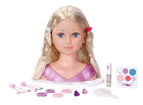 Zapf Creation - Busto de muñeca para maquillar y peinar (951415)