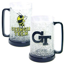 Georgia Tech Yellowjackets Crystal Freezer Mug