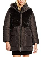 ADD Plumas Down Parka Detachable Fur Vest (Marrón)