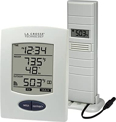 La Crosse Technology WS-9029U Wireless Weather Station with Digital Time from La Crosse Technology