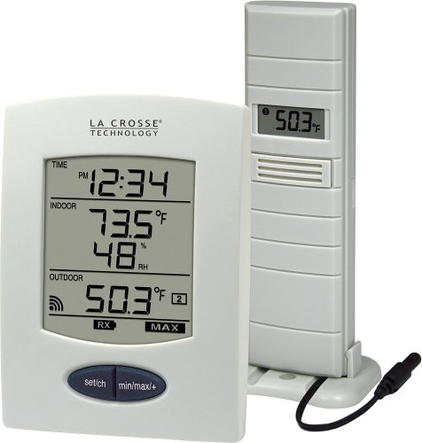 La Crosse Technology WS-9029U Wireless Weather Station with Digital Time