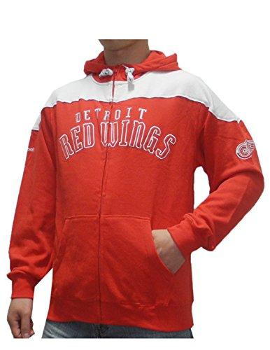 Red wings vintage hoodie