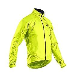 Sugoi Men\'s Versa Bike Jacket, Super Nova Yellow, Medium