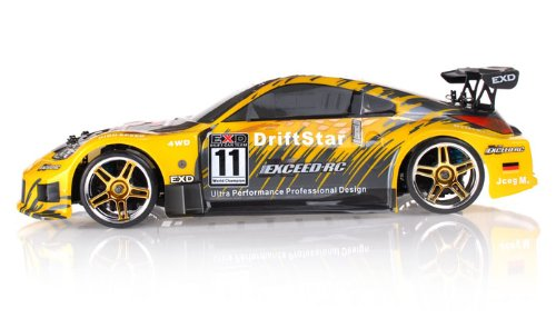 1/10 2.4Ghz Exceed RC Electric DriftStar RTR Drift Car (Carbon Yellow)
