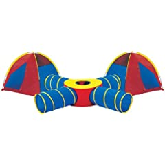 Pacific Play Tents Tunnels of Fun Super Set with Tents by PACIFIC PLAY TENTS