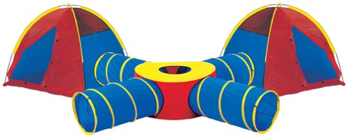 Pacific Play Tents Tunnels Of Fun Super Set With Tents front-752251
