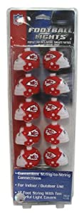 Kansas City Chiefs Football Helmet Lights by Pro Specialties