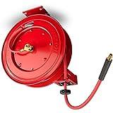 TEKTON 46845 50-Foot x 3/8-Inch I.D. Auto Rewind Air Hose Reel (250 PSI)