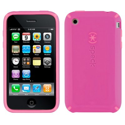 Speck Products CandyShell Case for iPhone 3G, 3G S (Pink/Pink)
