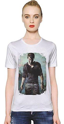 Uncharted 4 Nathan Drake T-shirt donna X-Large