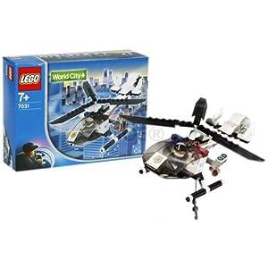 Amazon.com: LEGO World City Police Helicopter 7031 (japan ...