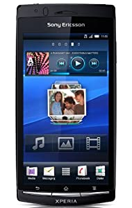 Sony Ericsson Xperia arc S Smartphone (10.7 cm (4.2 Zoll) Touchscreen, 8.1 Megapixel Kamera, Android 2.3 OS,  1GB Speicher) midnight blue