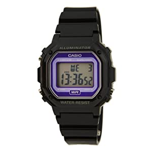 Casio F-108WHC-1BEF Mens Black Chronograph Watch