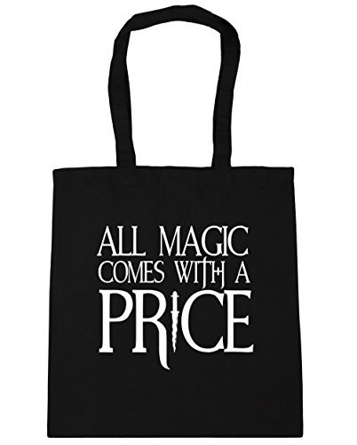 hippowarehouse-all-magic-comes-with-a-price-tote-shopping-gym-beach-bag-42cm-x38cm-10-litres